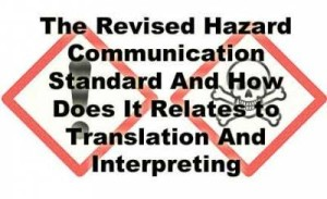 hazard communication standards translation image