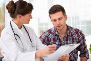 doctor explaining image