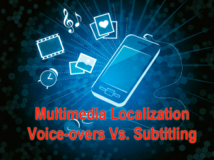 voice overs and subtitling image