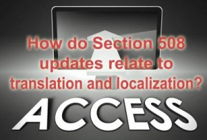 Section 508 compliance image