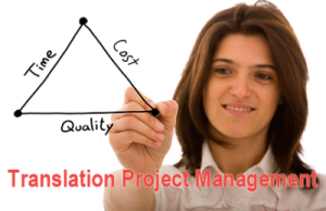 Translation Project Management Icon