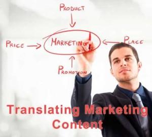 translating marketing content