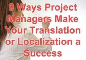 Localization project manager image