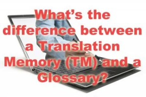 Translation memory and glossary image